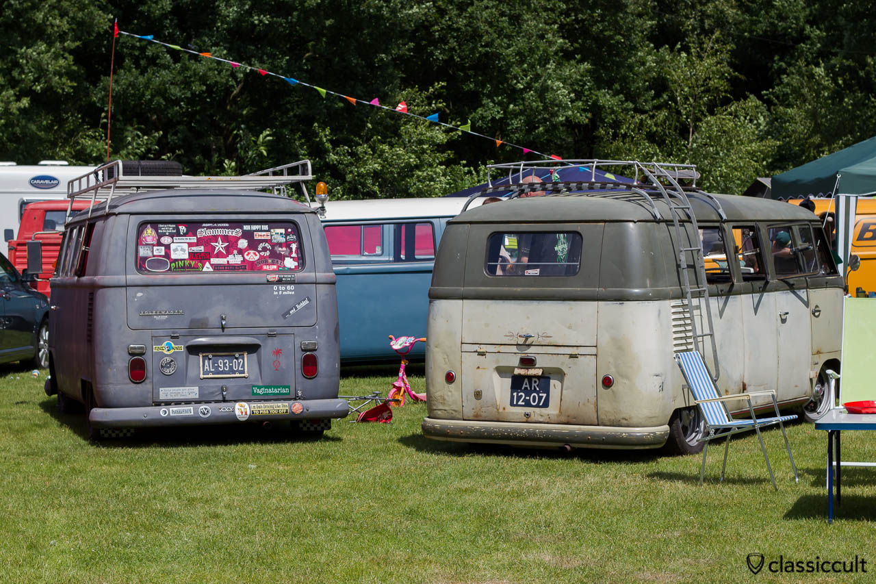 VW T1 and T2a Kombi Bus
