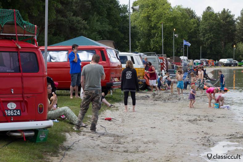 De Bergen IKW Wanroij Lake, VW and Kids
