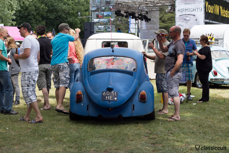 IKW Wanroij 2013 VW Beetle Hifi Sound Contest with Heineken