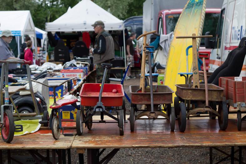 vintage Radio Flyer wagon