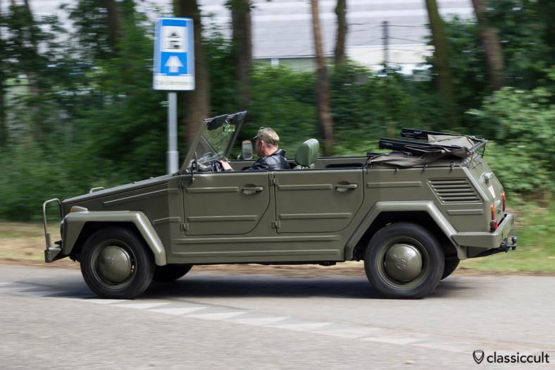 VW 181 Thing leaving Internationaal Kever Weekend Wanroij