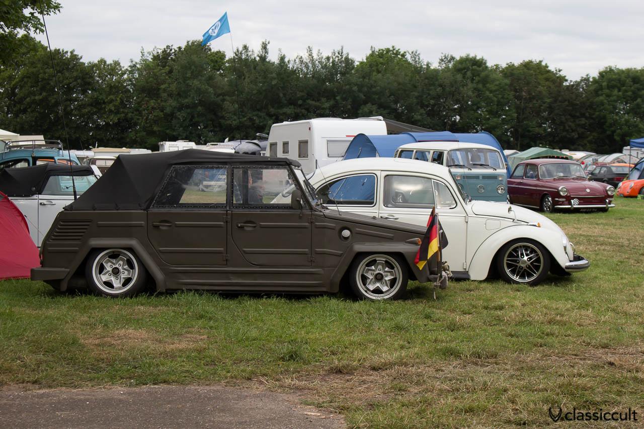 slammed VW 181