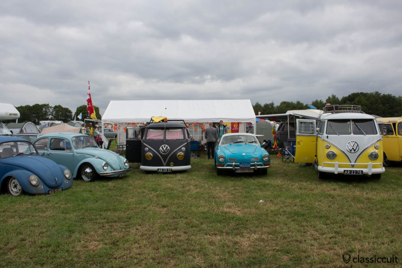 VW Beetle, Split Bus, Karmann Ghia