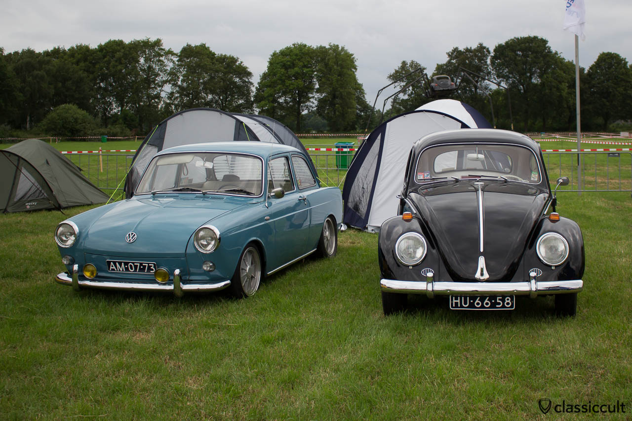 1958 VW Beetle and 1973 Type 3