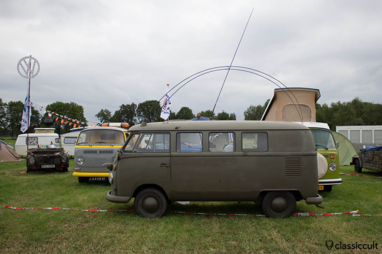 VW T1 Military Split Bus