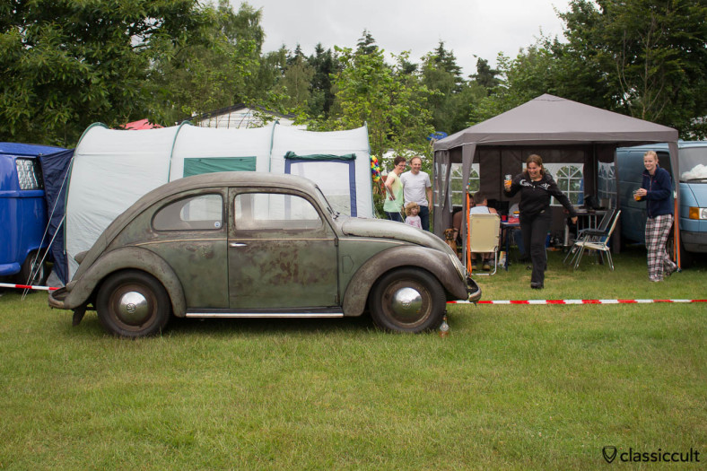 1951 Split Beetle at IKW Wanroij 2014, cheers!