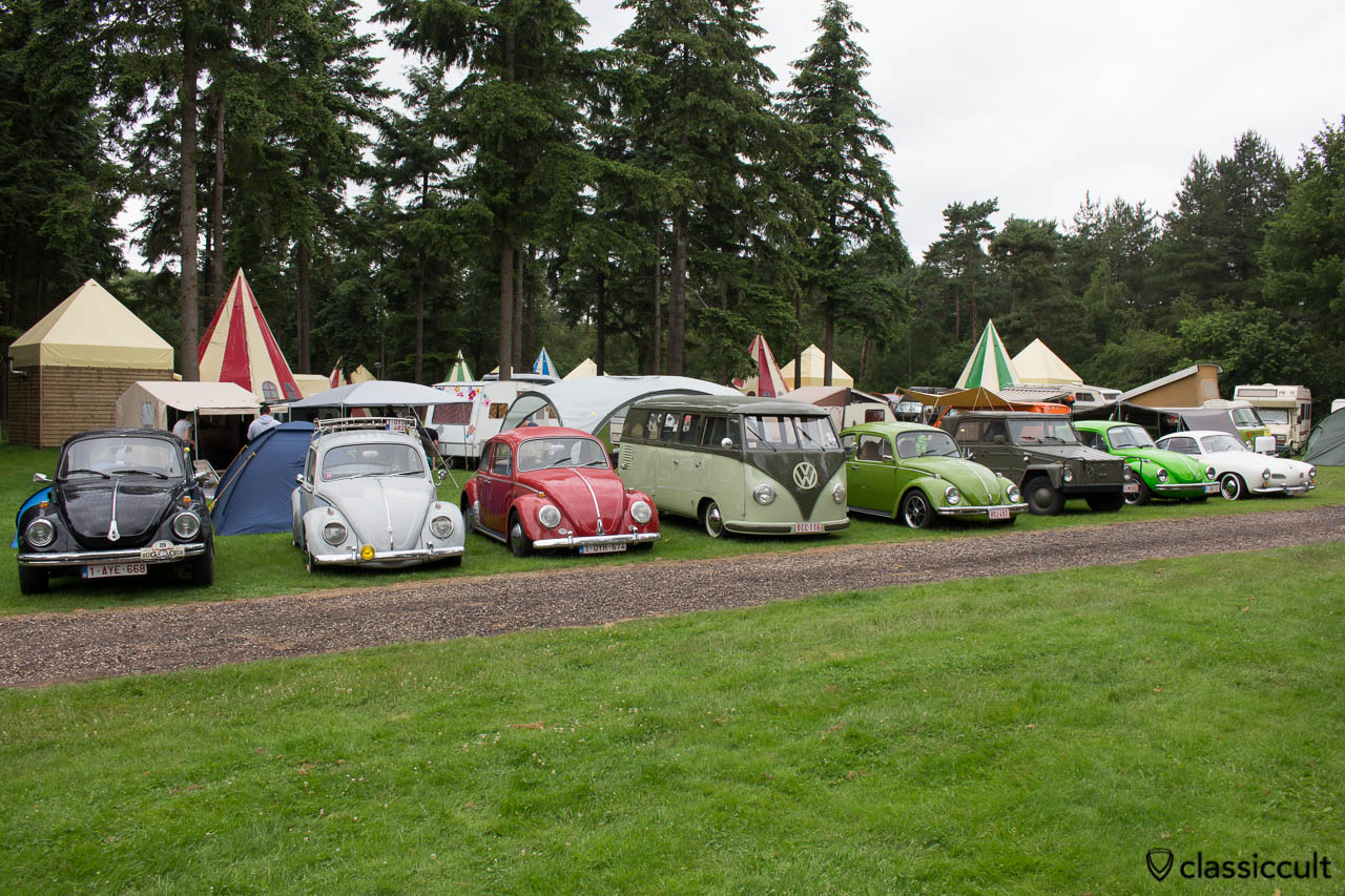 Camping at IKW Beetle Weekend 2014
