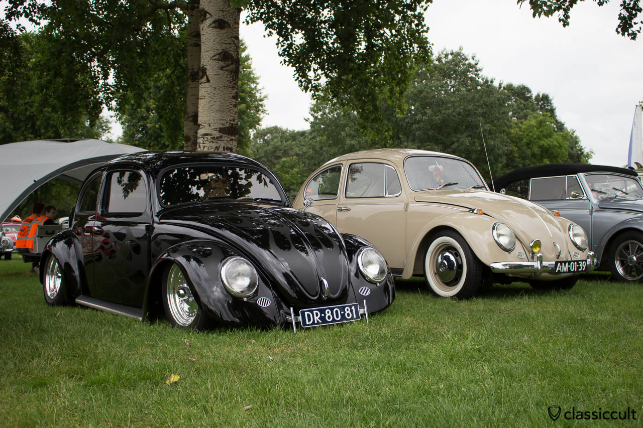 black VW Oval front