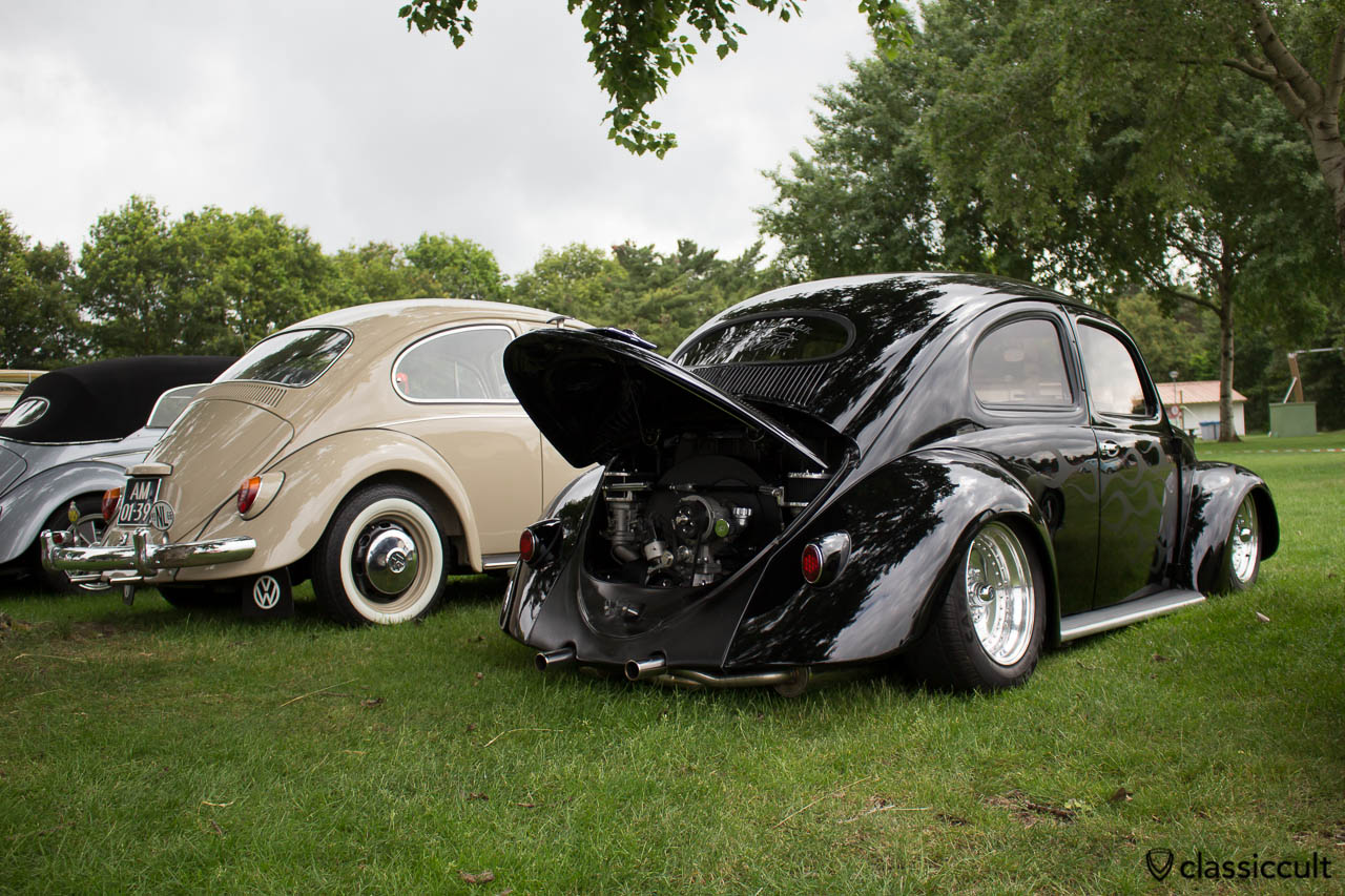 black VW Oval rear