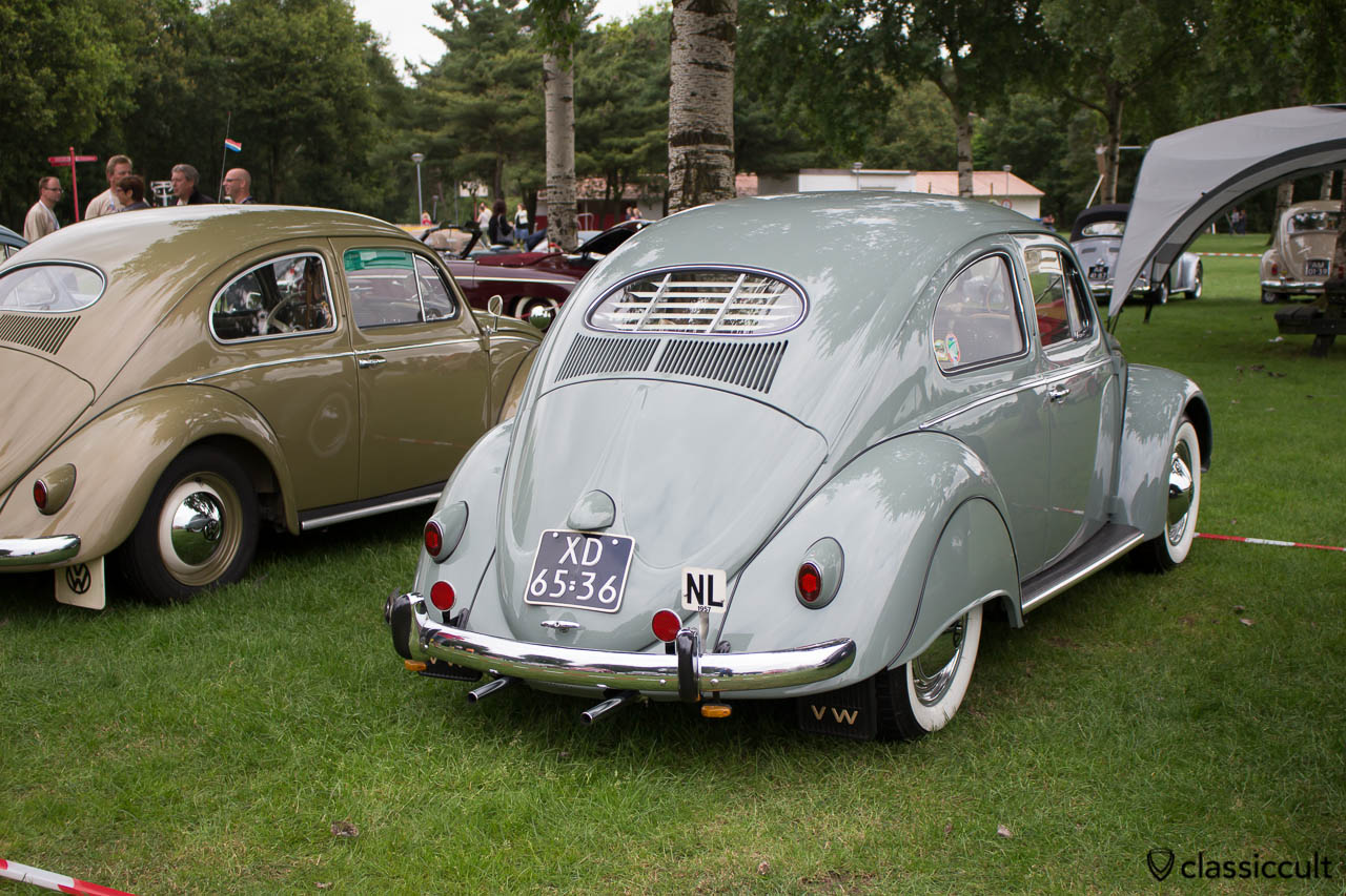 VW oval fender skirts