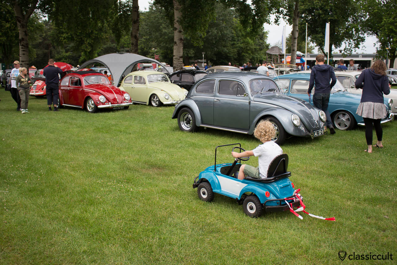 VW Bug pedal car