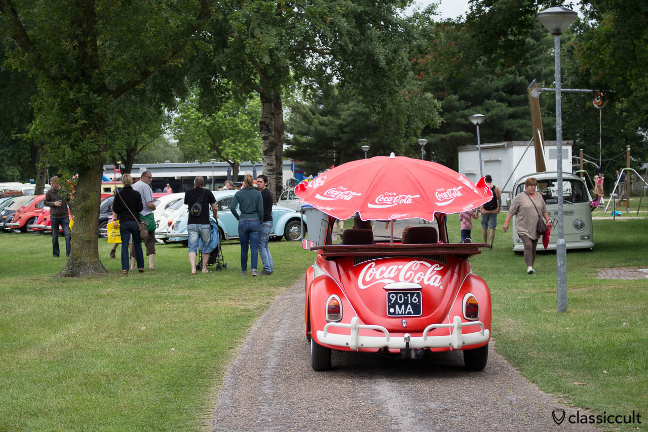 Coca Cola VW Beetle