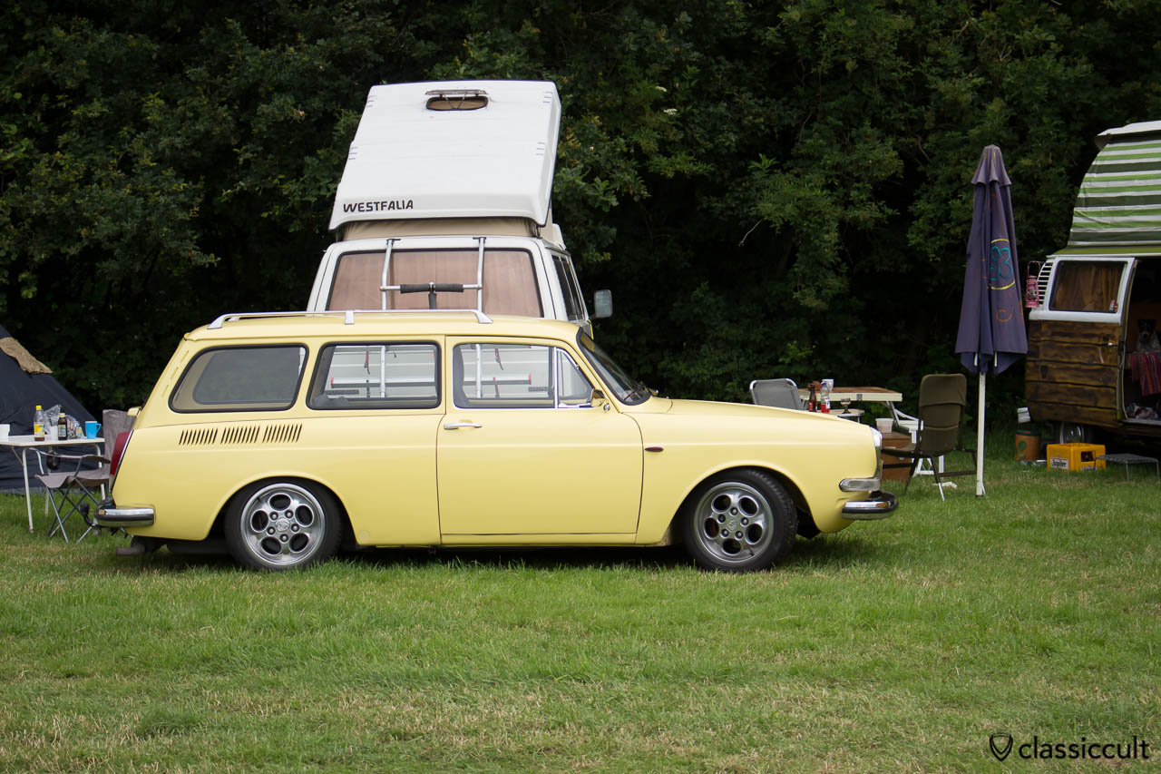 lowered VW type 3 squareback