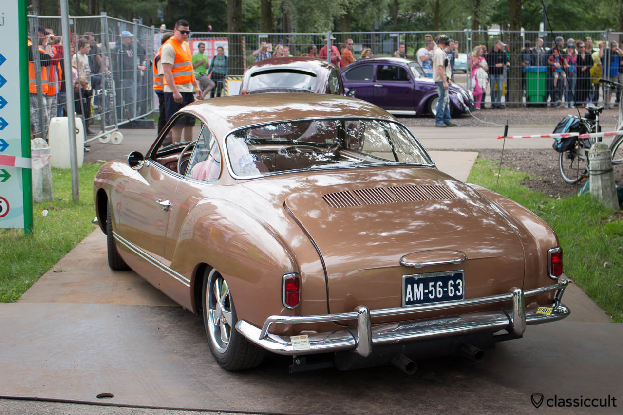VW Karmann Ghia before sprint