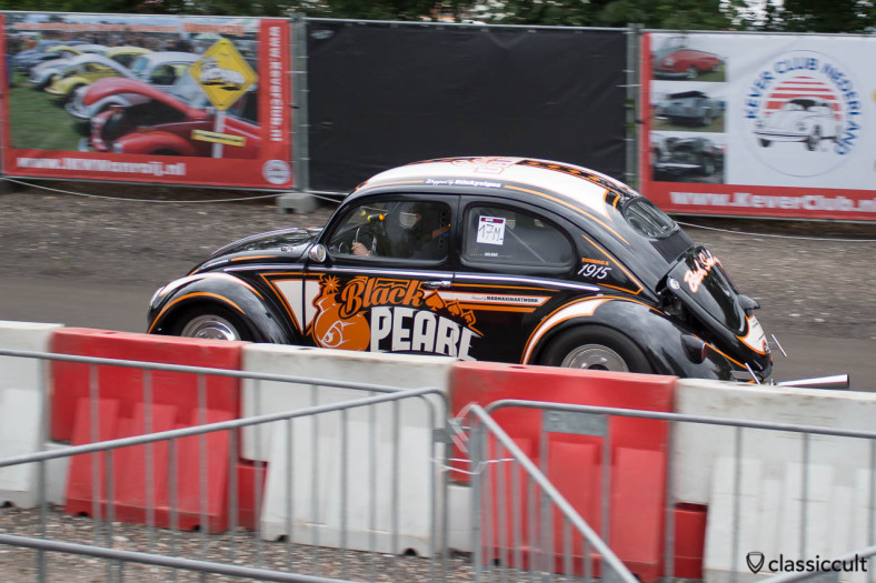 VW Bug Black Pearl Sprint, Delrue #701, Finish 6.266, IKW Wanroij 2014