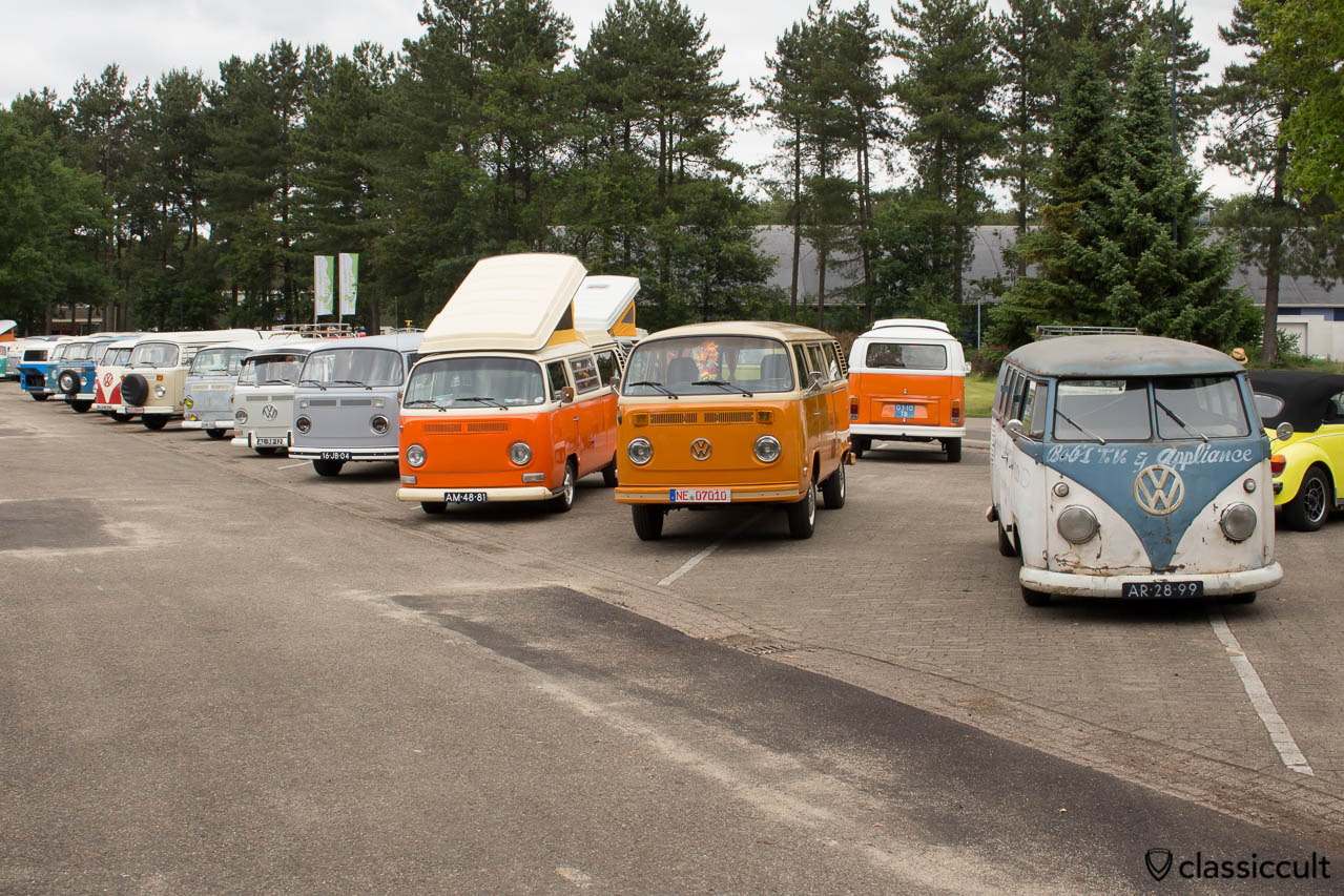 Bus Parking Area IKW VW Show 2014