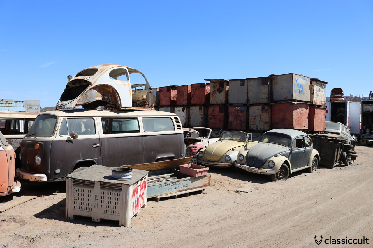 Interstate VW Junkyard California | classiccult