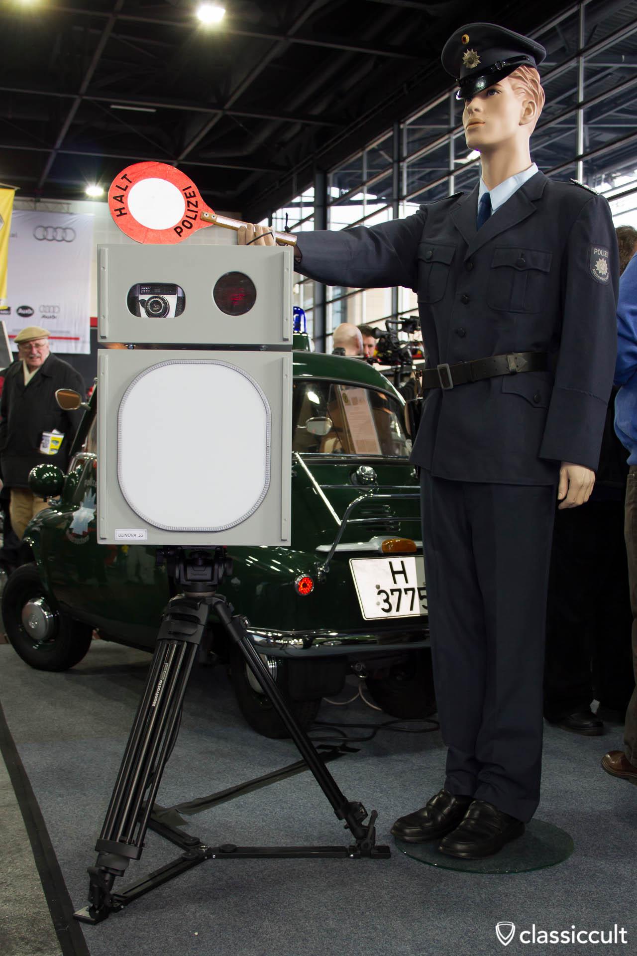 Isetta Polizei Blitzanlage