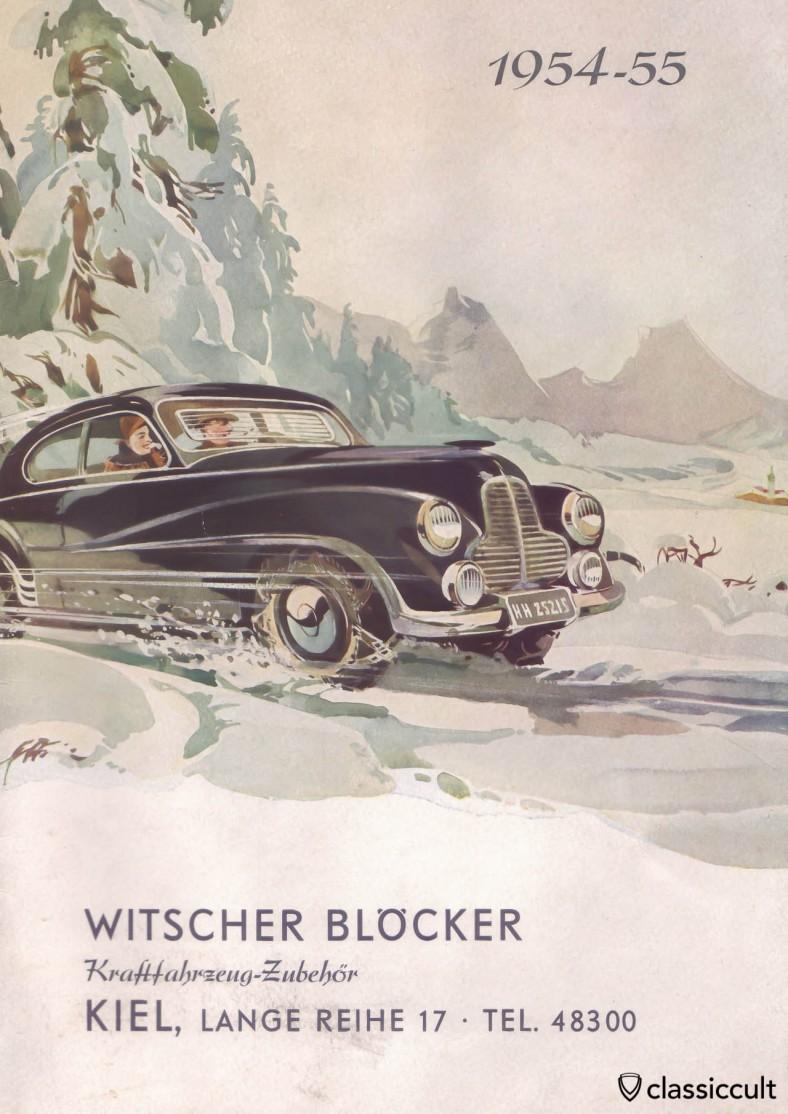 Kraftfahrzeug Zubehör Katalog Kiel 1954-1955