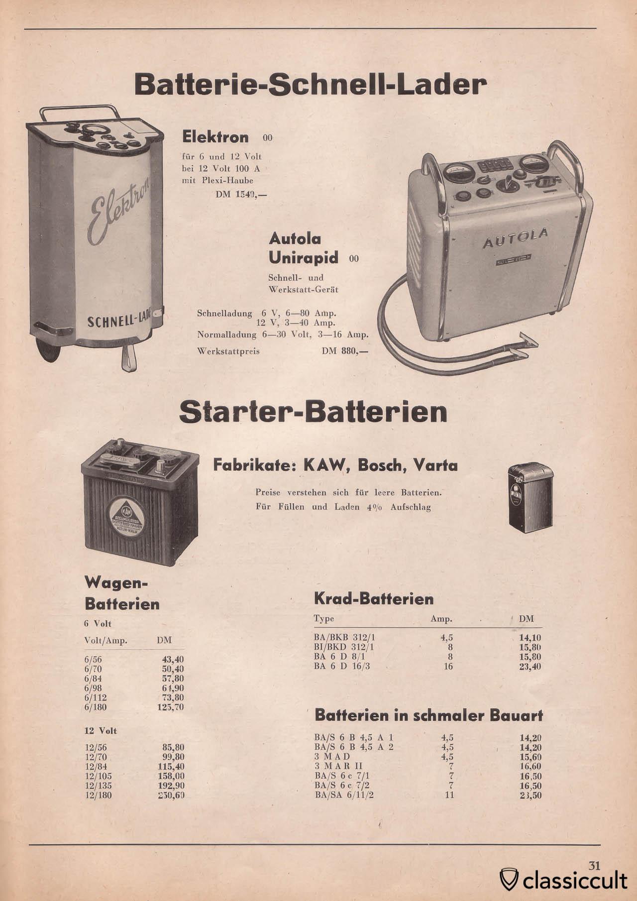 Kraftfahrzeug Zubeh 246 R Katalog 1954 1955 Classiccult