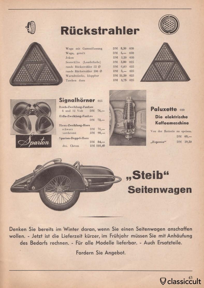 Paluxette for VW split bug