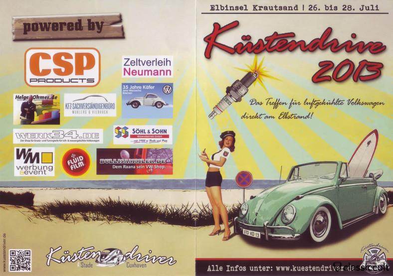 Küstendrive VW Treffen vom 26.07.2013 - 28.07.2013 Küstendriver Flyer