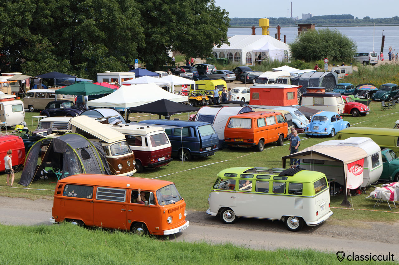 VW T2b Tin Top und T1 Samba Bus