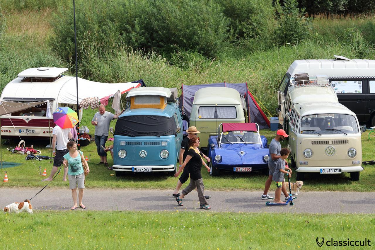 Camping am Deich, Küstendrive VW Treffen