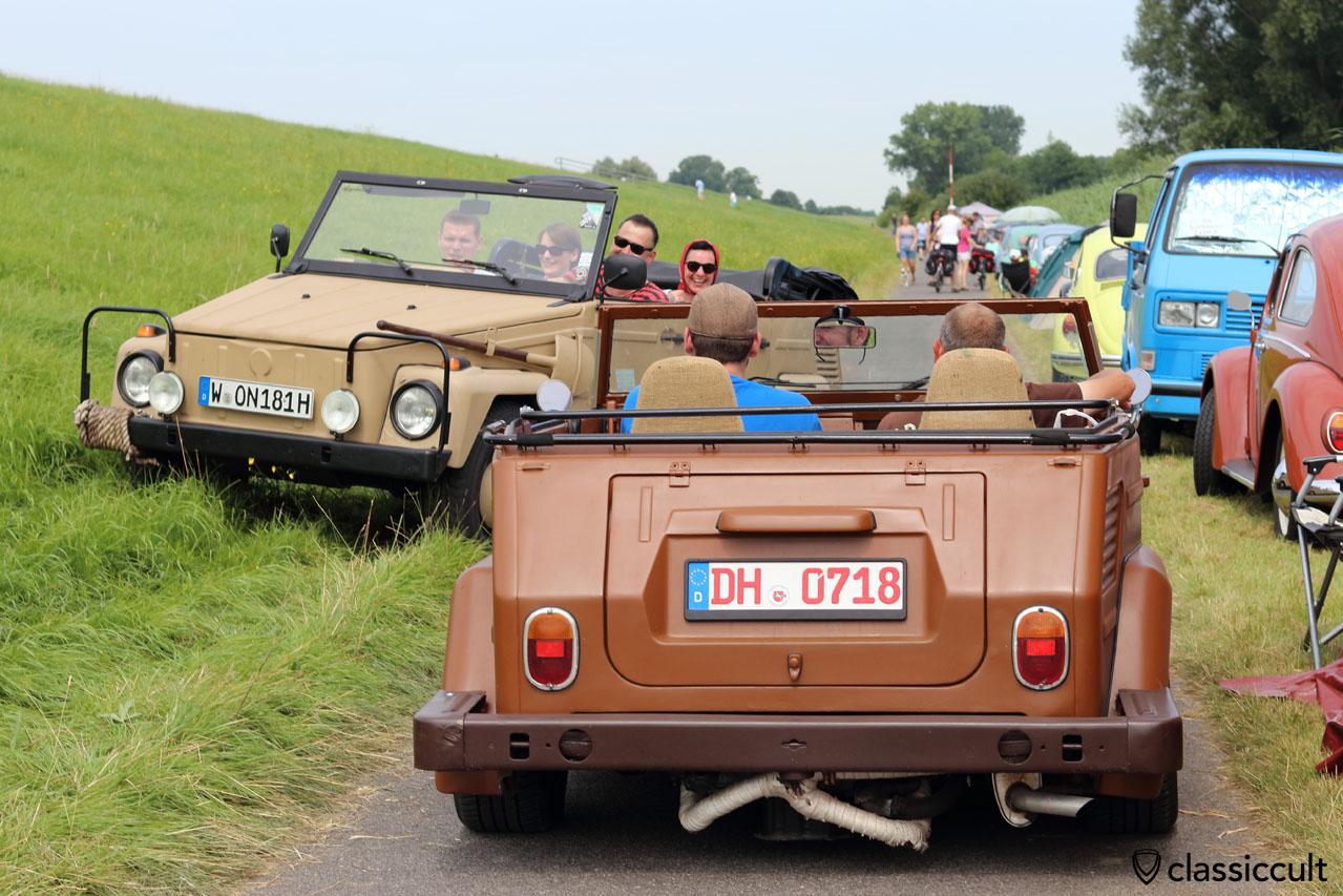 VW 181 am Elbdeich, Küstendrive Treffen 2016