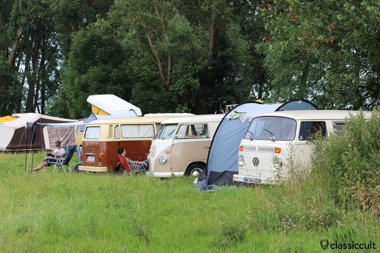 VW T1 und T2 Camping