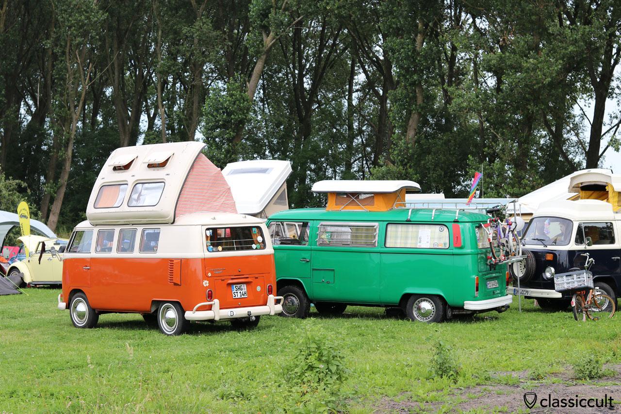 VW T1 Dormobile aus Schaumburg (SHG) und T2 Umbau aus Minden (MI)