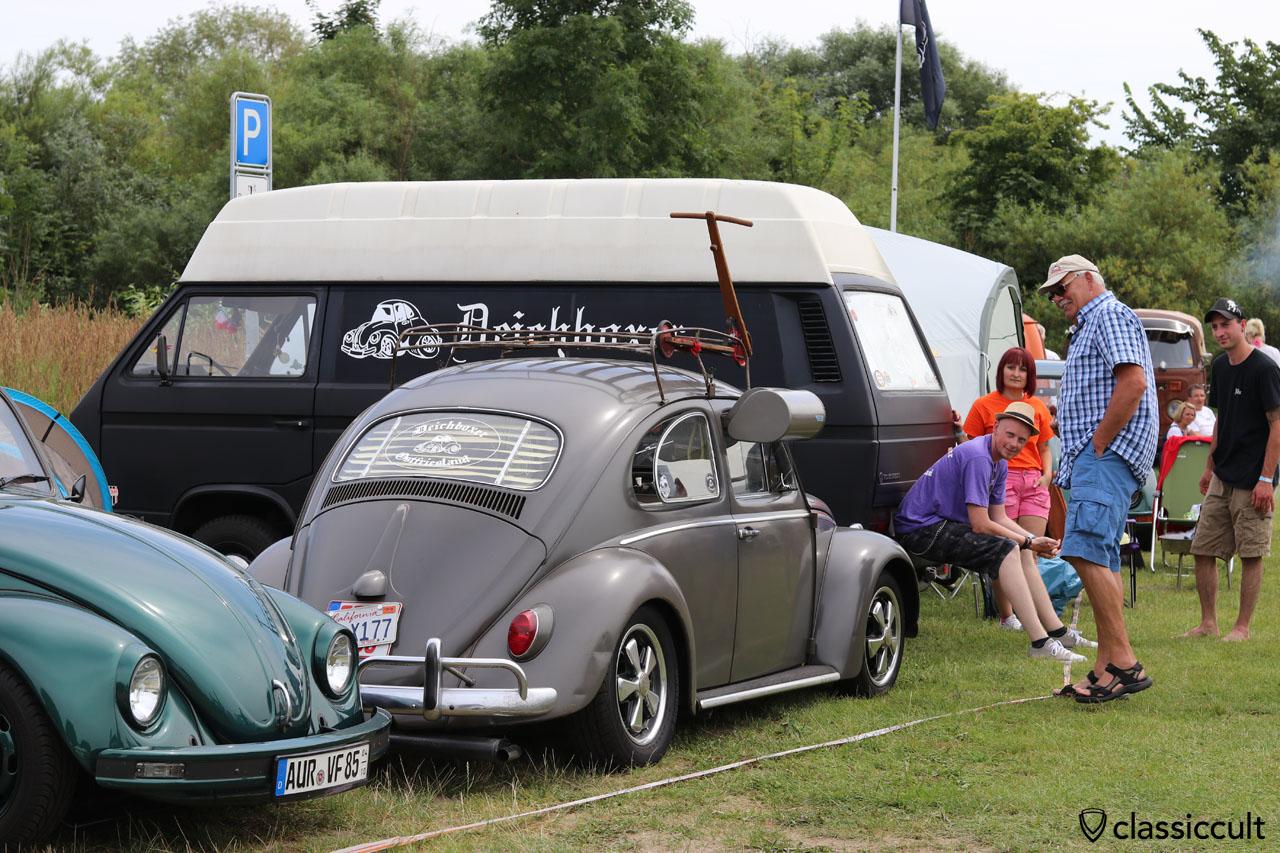 VW Käfer mit Swamp Cooler vom Deichboxer Ostfriesland Club
