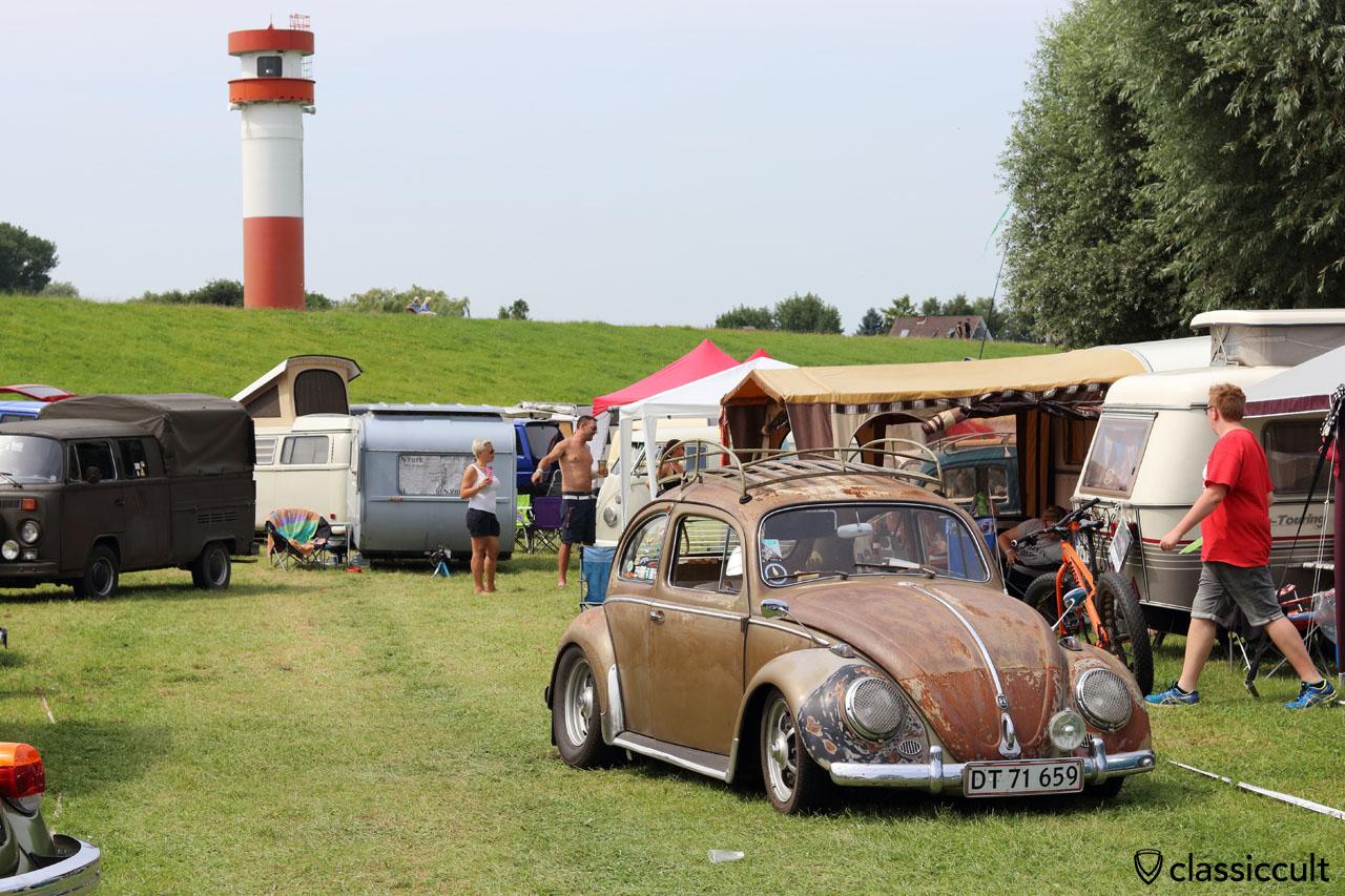 1959 VW Käfer aus Dänemark, Küstendrive 2016