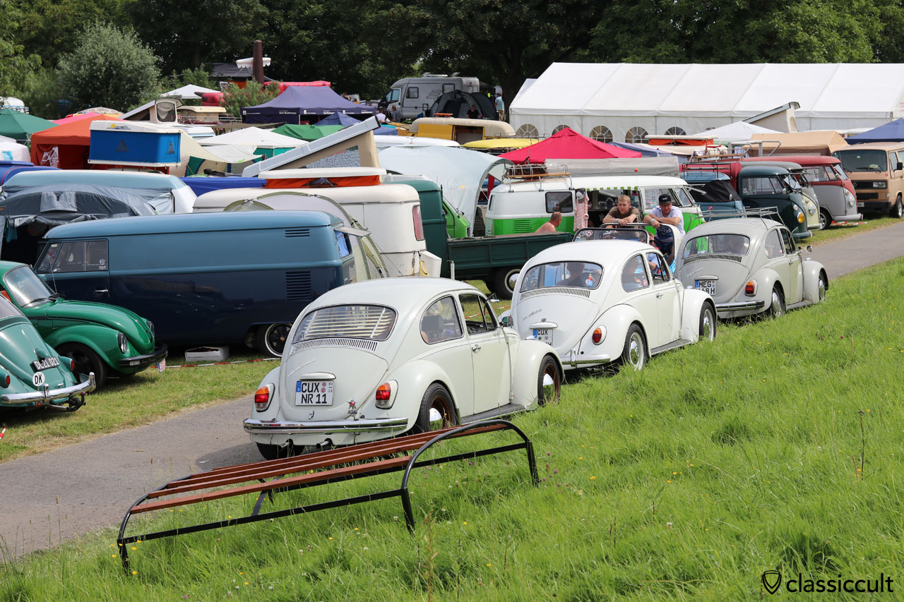 VW Fans am Deich, Küstendrive Treffen 2016