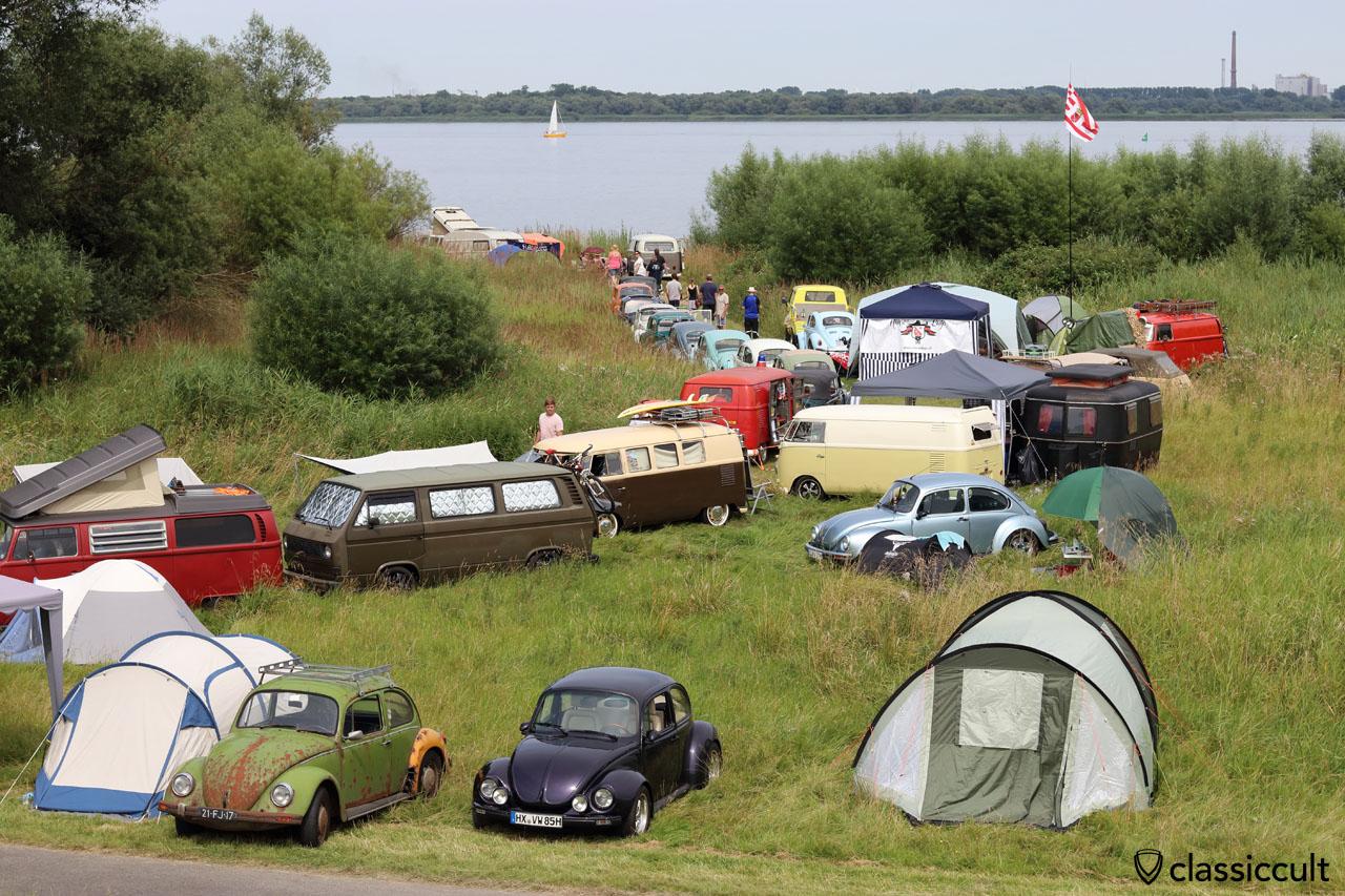 VW Fans Elbinsel Krautsand