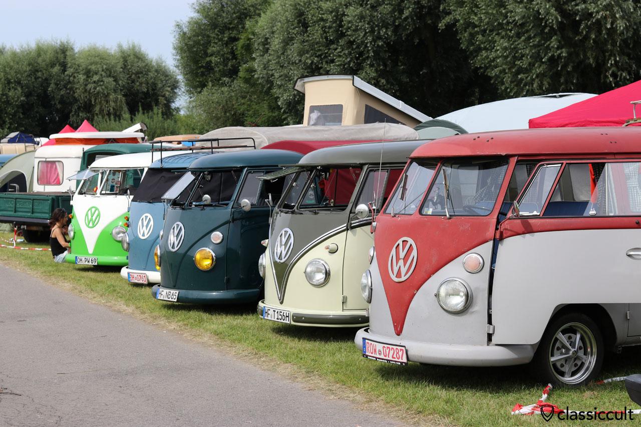 Volkswagen T1 Show and Shine, Küstendrive, Krautsand