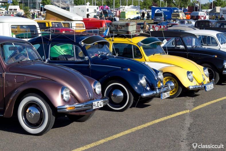 VW Käfer mit Zubehör