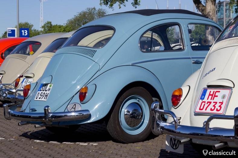 VW Käfer mit A Austria Plakette