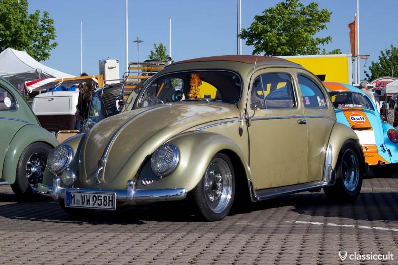VW Ovali Käfer The Golden Blechie