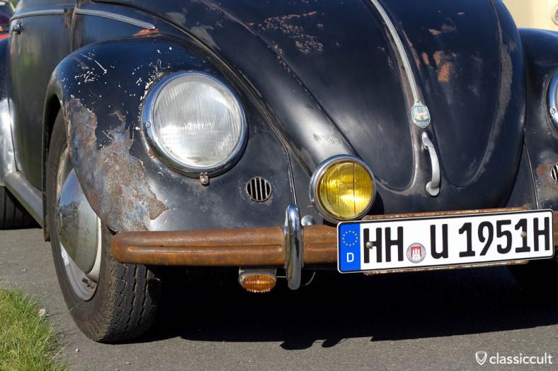 VW Käfer schön gerostet