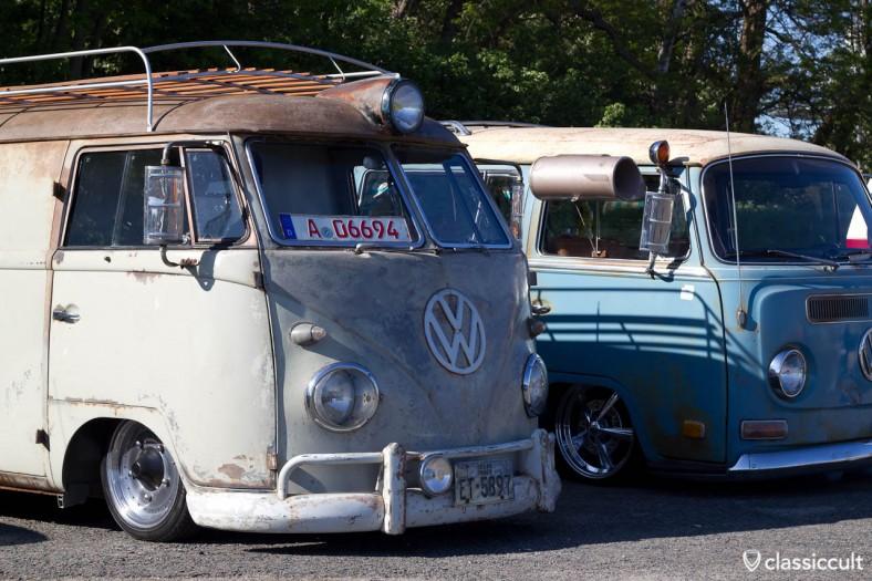 VW Bus tiefergelegt