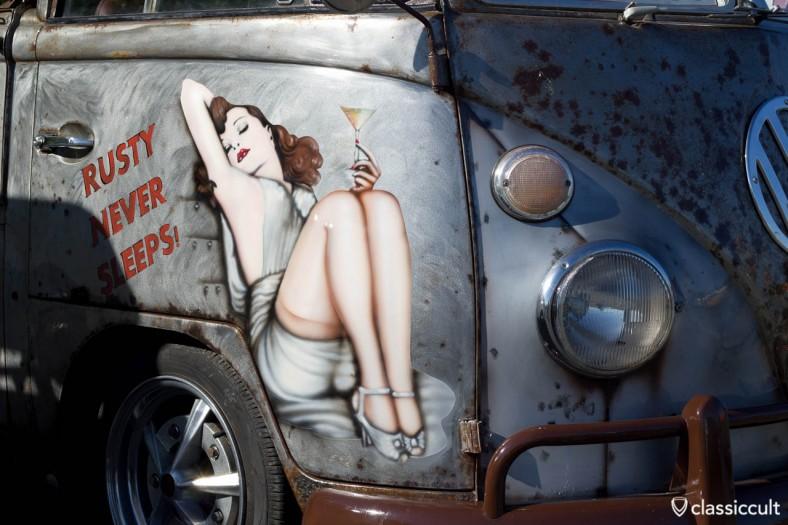VW Bus RUSTY NEVER SLEEPS