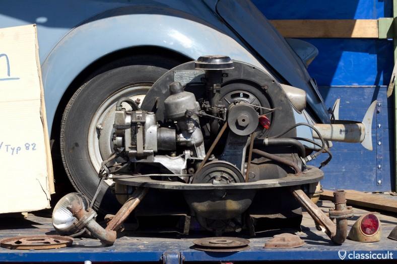 Brezel Käfer Motor