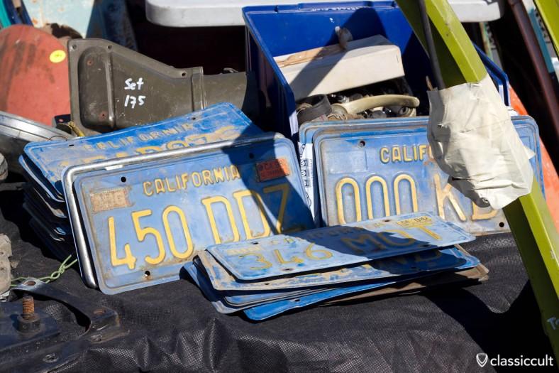 VW California Nummernschilder, Import Beifang von kieftenklok