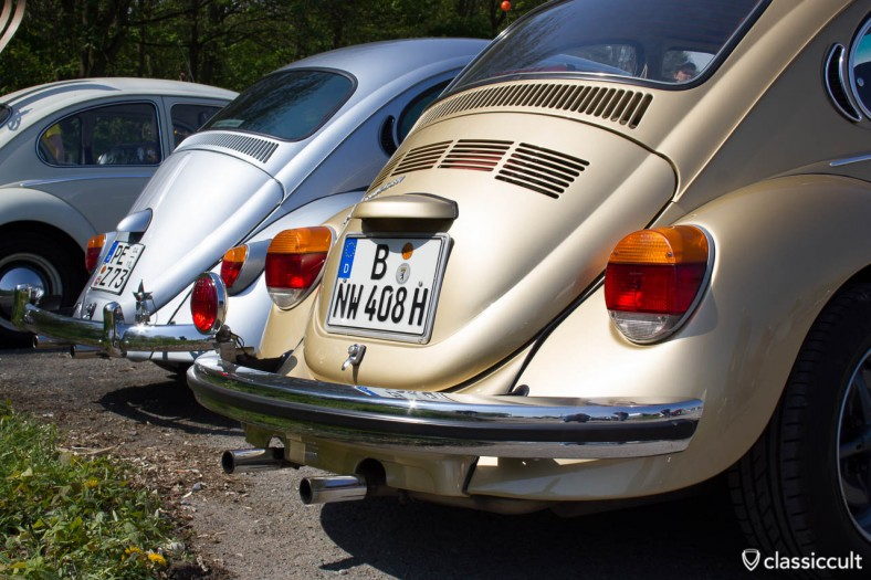 VW Bug with Hassia rear foglamp
