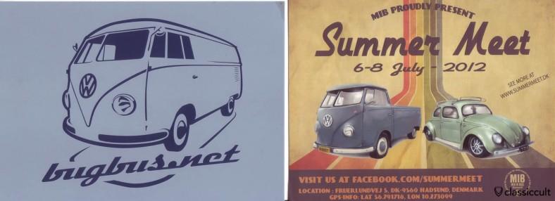 Maikäfertreffen 2012 vw flyer ads