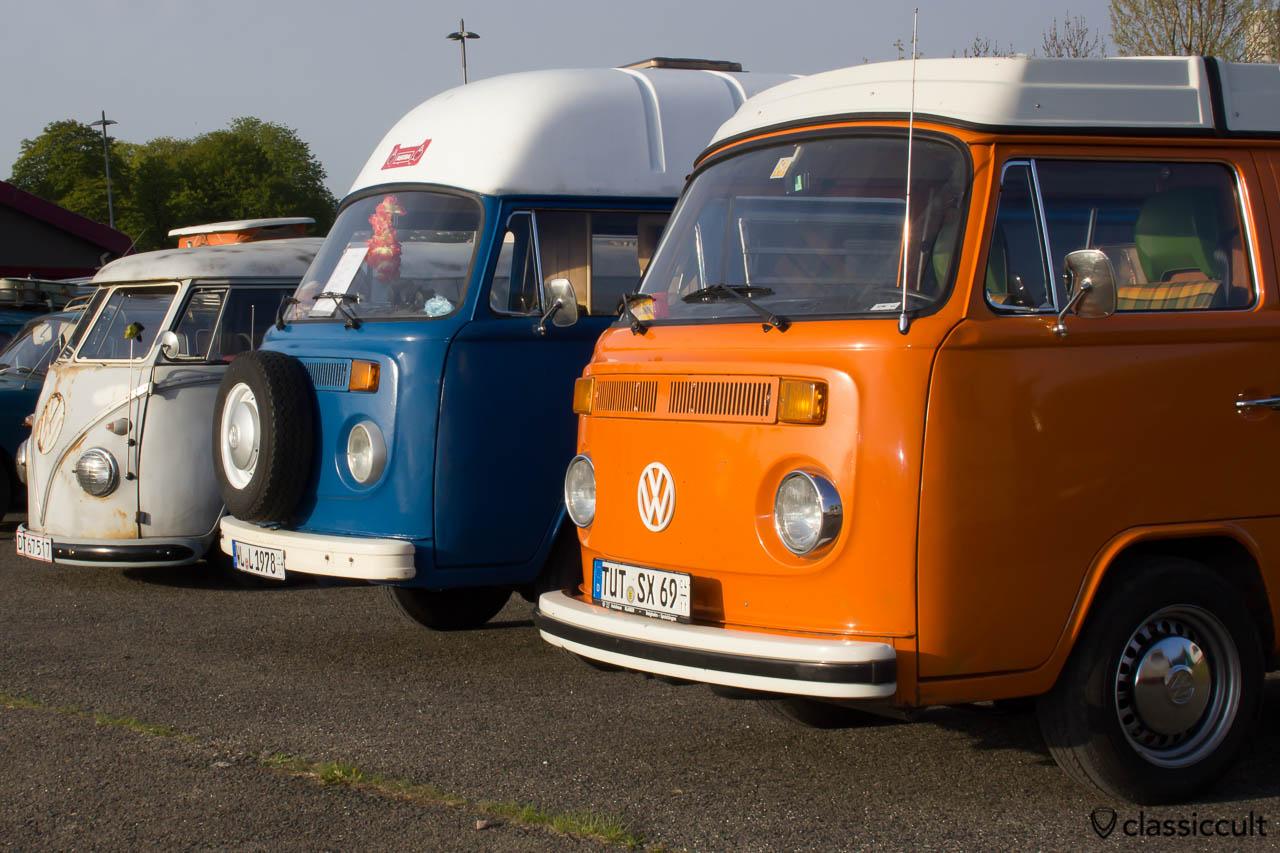 T2 Camping Busse auf dem MaiKäferTreffen 2013