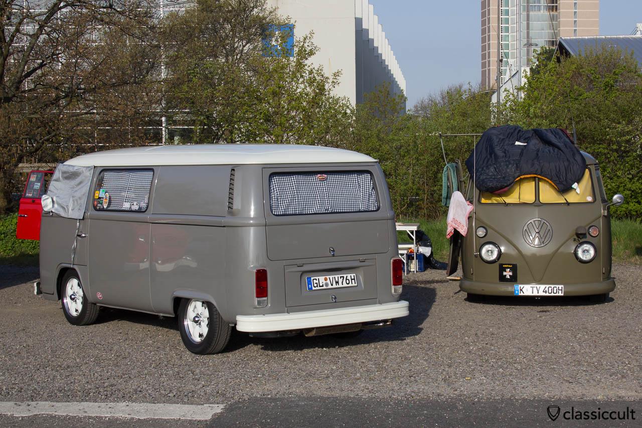 8:00 Uhr Camping im VW Bus auf dem MaiKäferTreffen 2013