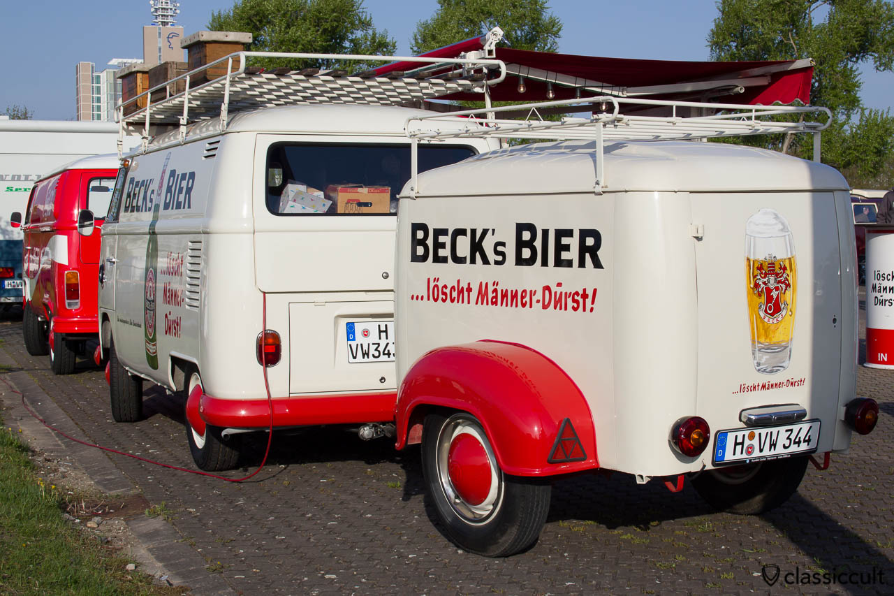 Becks Bier VW Bus