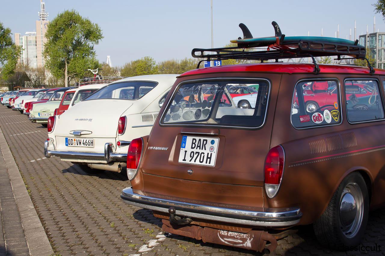 VW Typ 3 Varianten